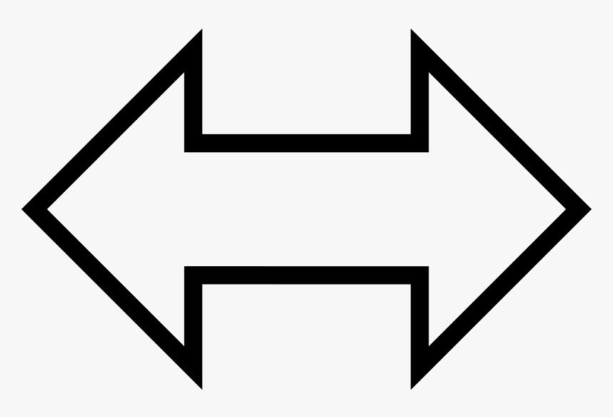 Arah Arrow Computer Icons Bipolar Disorder Angle - White Two Arrows, HD Png Download, Free Download