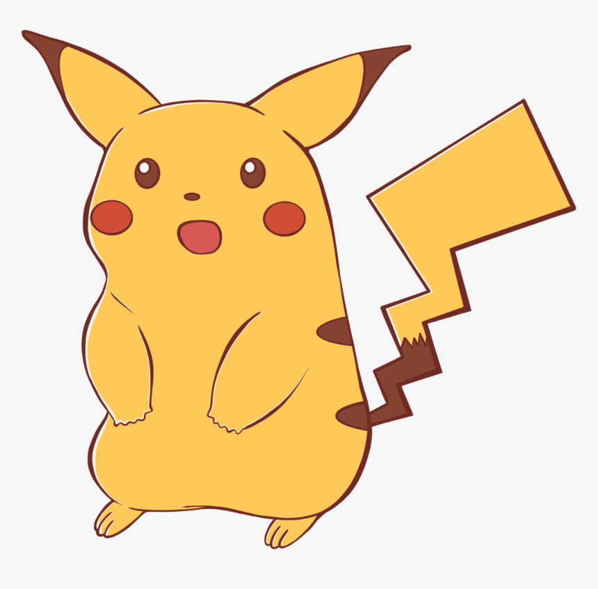 Meme Png Surprised Pikachu - Surprised Pikachu No Background, Transparent Png, Free Download