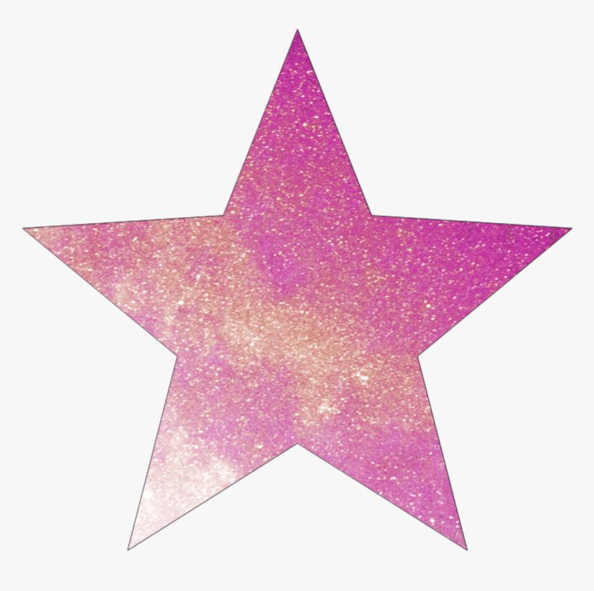 Transparent Pink Star Png - Star, Png Download, Free Download