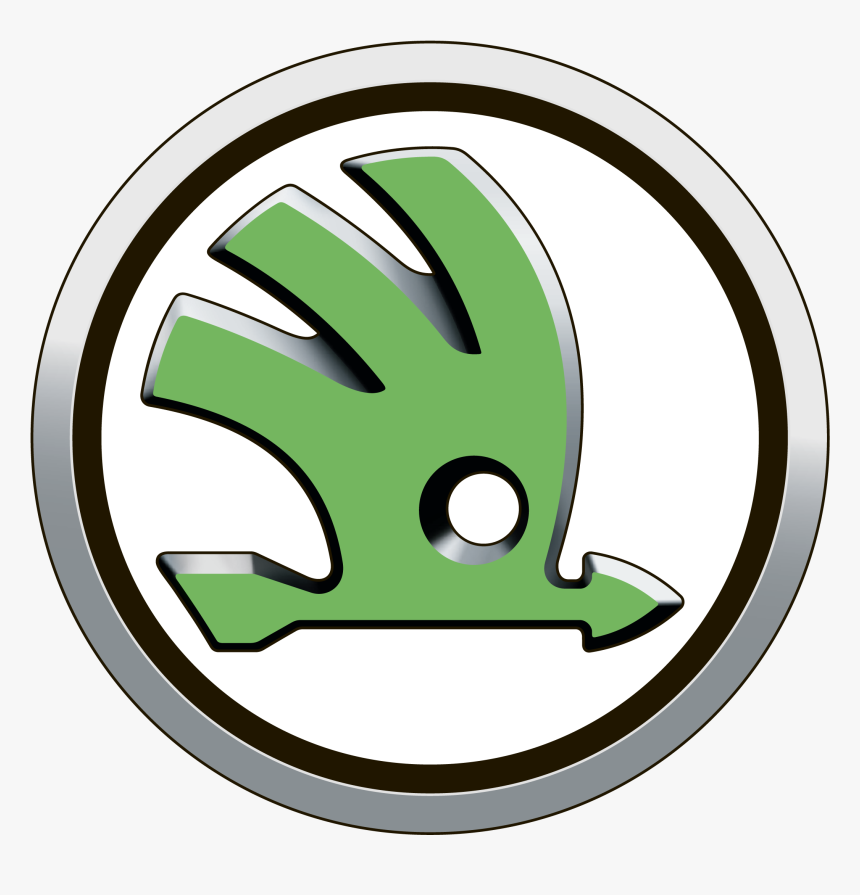 Skoda Logo Zeichen Auto Geschichte Car Show Clip Art - Skoda Auto Logo Transparent, HD Png Download, Free Download