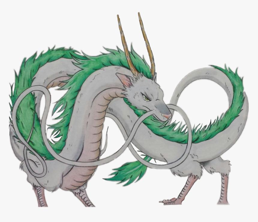 Studio Ghibli Spirited Away Dragon Haku Hd Png Download Kindpng