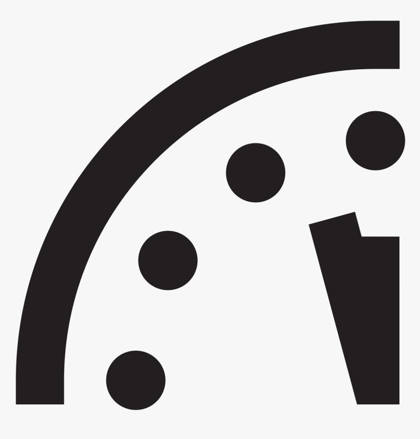 Doomsday Clock Two Minutes To Midnight, HD Png Download, Free Download