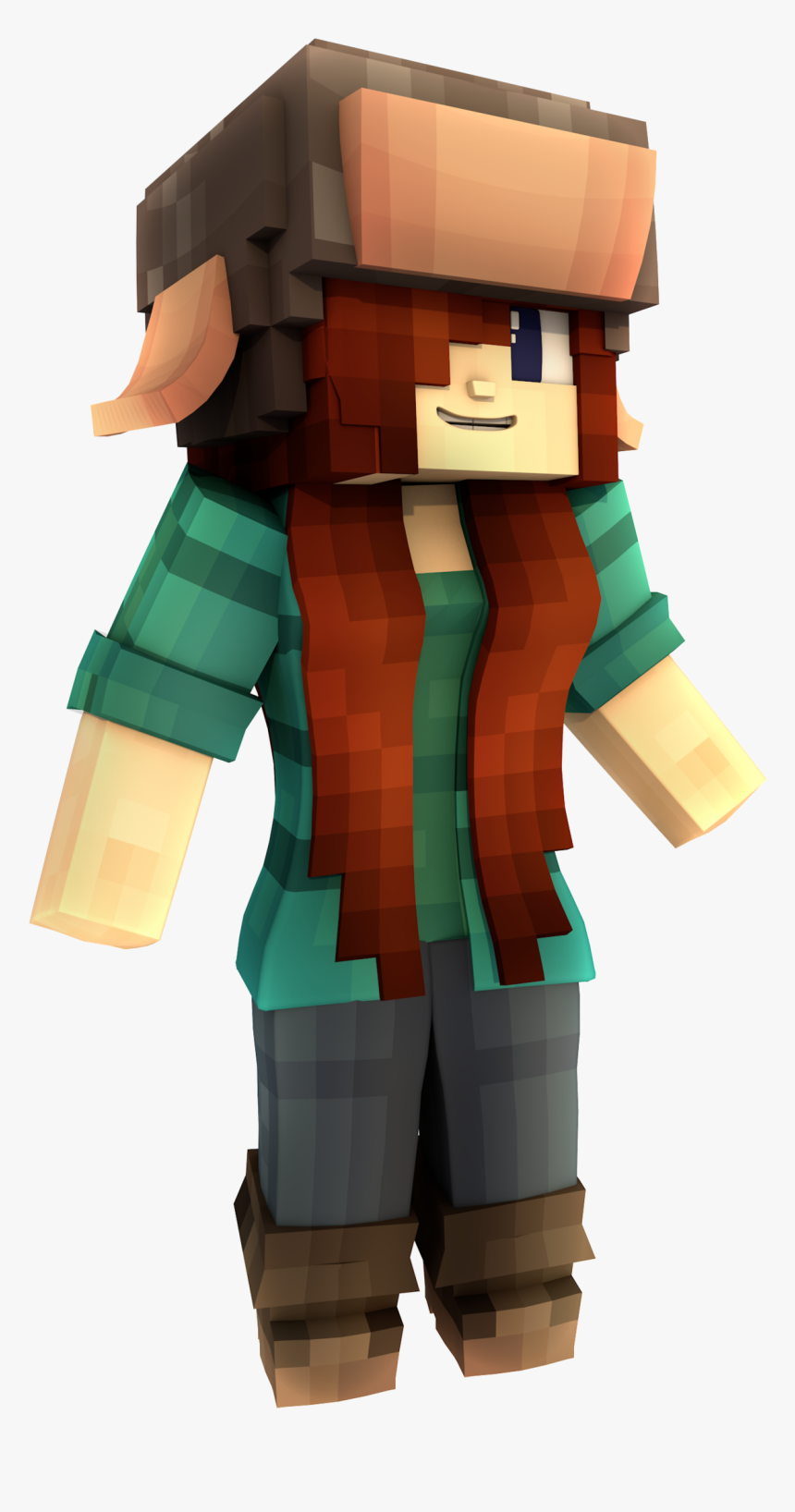 Minecraft Story Mode Logo Png Download , Png Download - Wendy Gravity Falls Skin Minecraft, Transparent Png, Free Download