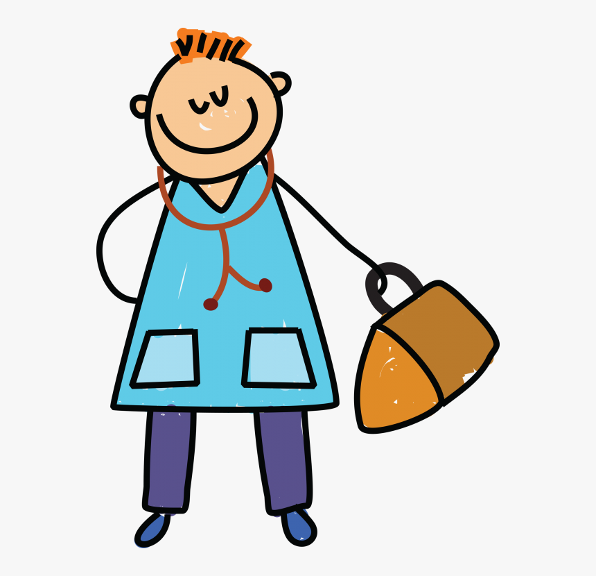 Transparent Kid Clipart Png - Doctors Pictures For Kids, Png Download, Free Download