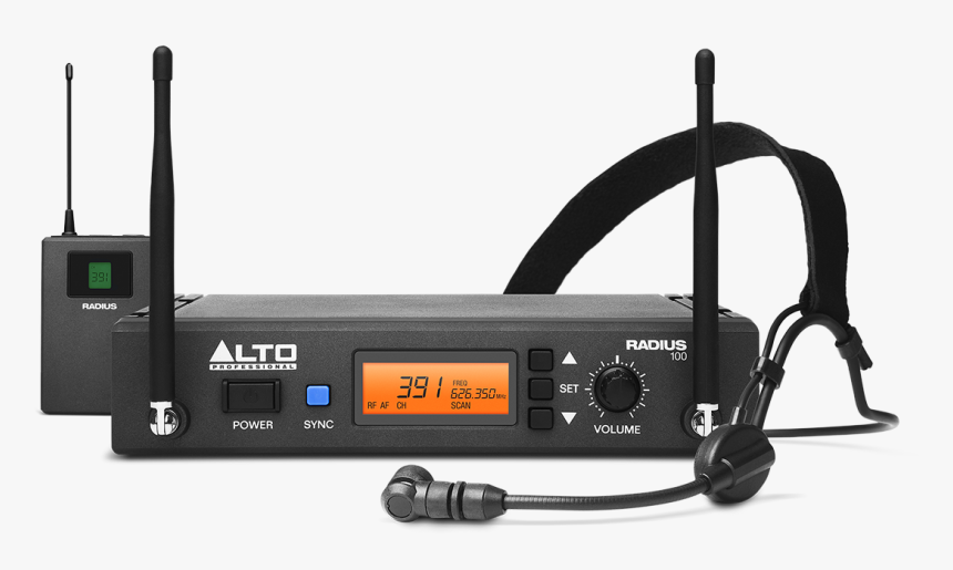 Alto Radius 200 Wireless Headset Microphone, HD Png Download, Free Download