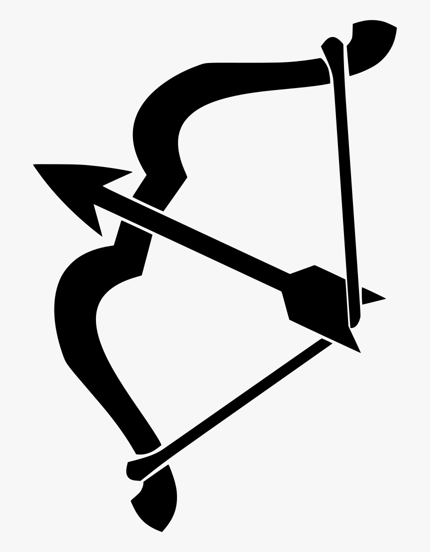 Bow And Arrow Clip Art, HD Png Download, Free Download