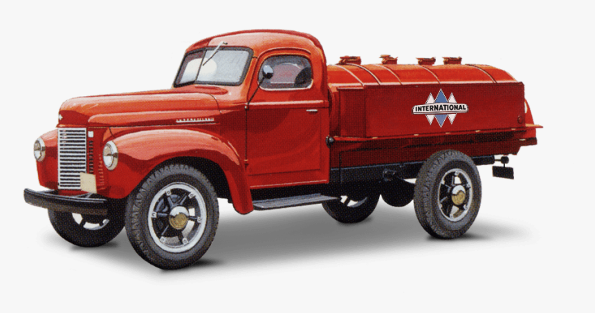 Old International Truck Illustration - Old International Trucks, HD Png Download, Free Download