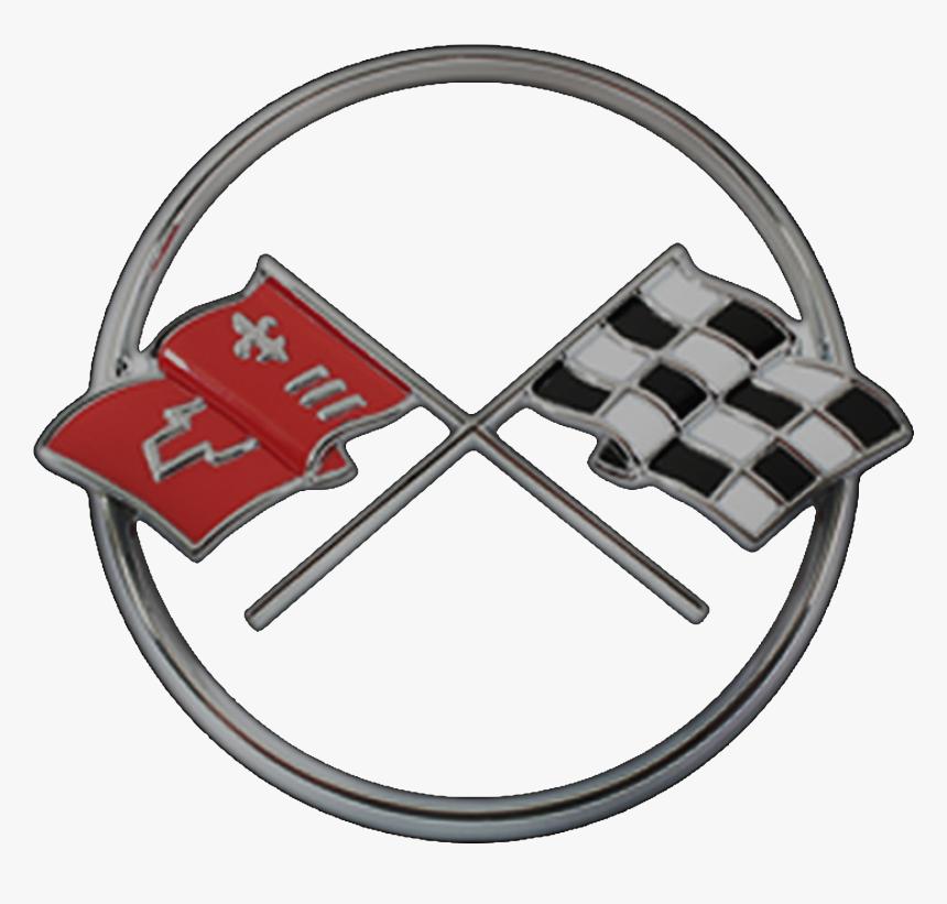 Flag Clipart Corvette - C2 Corvette Logo Png, Transparent Png, Free Download