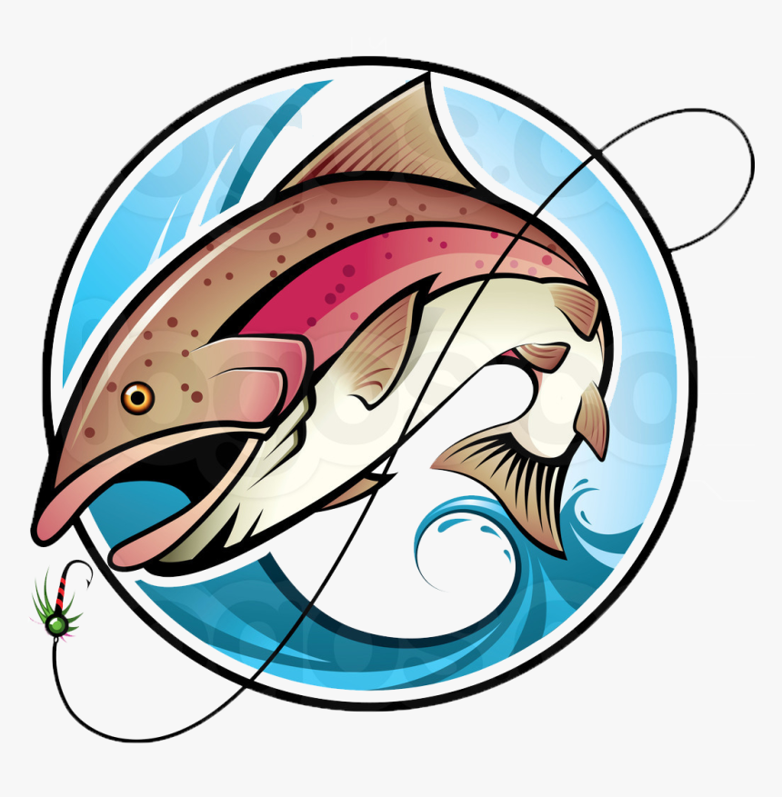 Transparent Fish Png Transparent - Fishing Vector Design, Png Download, Free Download