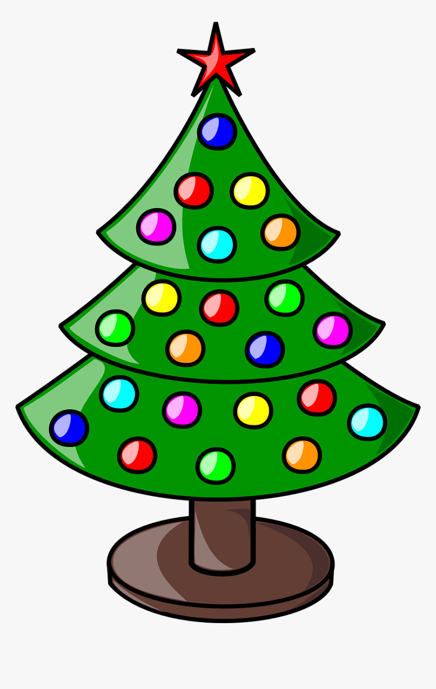 Christmas Tree Not Decorated, HD Png Download, Free Download