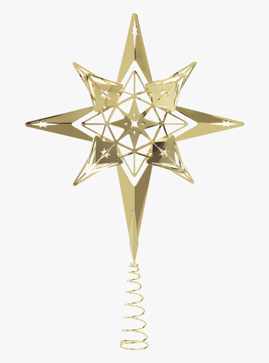 Top Star H32 Gold Plated Karen Blixen - Gwiazda Na Czubek Choinki, HD Png Download, Free Download