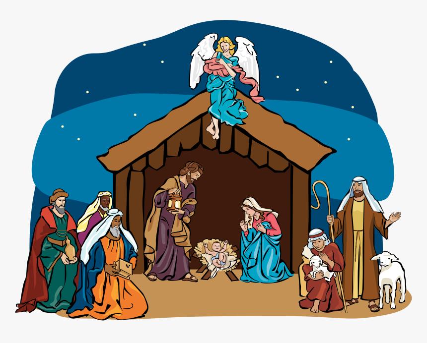 Nativity Scene Clipart - Three Wise Men