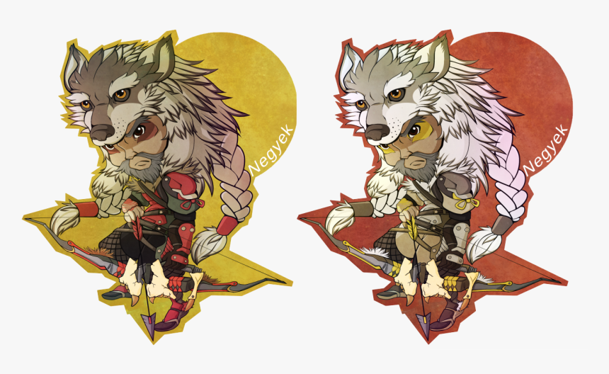 """"""" See Through The Wolf's Eyes """" - Lone Wolf Hanzo Skin Art, HD Png Download, Free Download"""