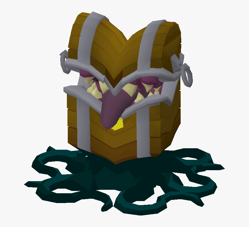 Old School Runescape Mimic Png, Transparent Png, Free Download