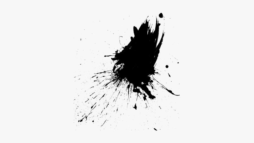 Paint, Splatter, Splash, Ink, Drop, Splattered, Drip - Splatter Black Paint Drip, HD Png Download, Free Download