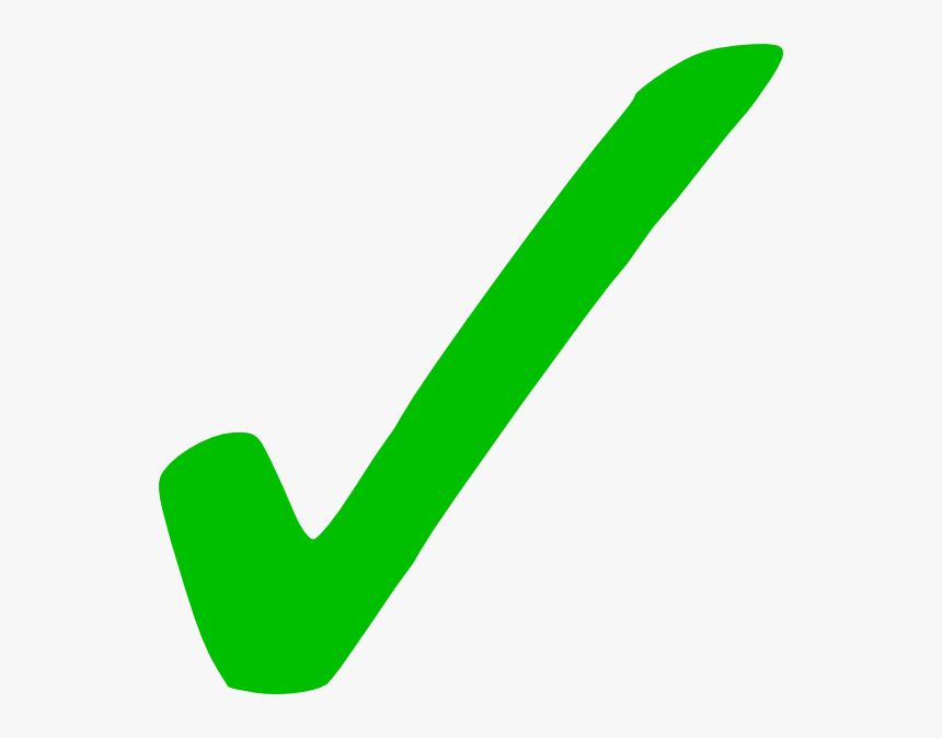 Green Check Mark Icon, HD Png Download, Free Download