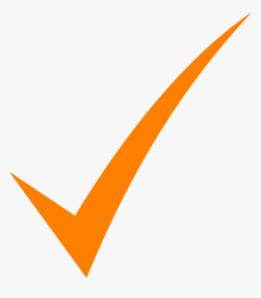 Check, Mark, Orange, Tick, Symbol, Icon, Sign, Isolated - Orange Check Mark Png, Transparent Png, Free Download