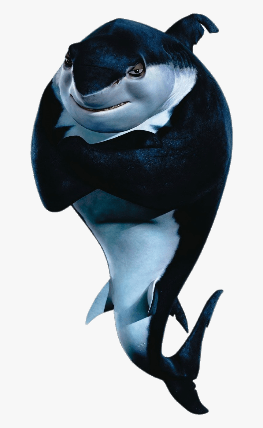 Shark Tale Character Frankie The Shark - Shark Tale Bad Shark, HD Png Download, Free Download