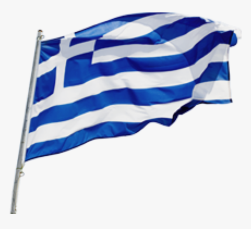 #flag #symbol #greece #greek #greekflag - Bandera De Grecia Png, Transparent Png, Free Download