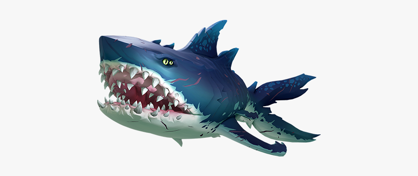 Megalodon - Sea Of Thieves Meglidon, HD Png Download, Free Download