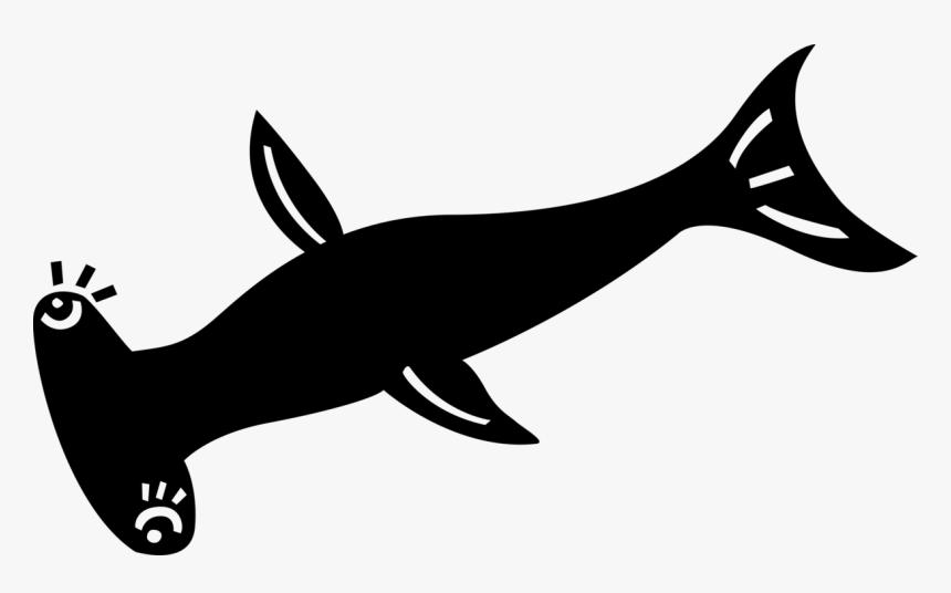 Transparent Hammerhead Shark Clipart, HD Png Download, Free Download