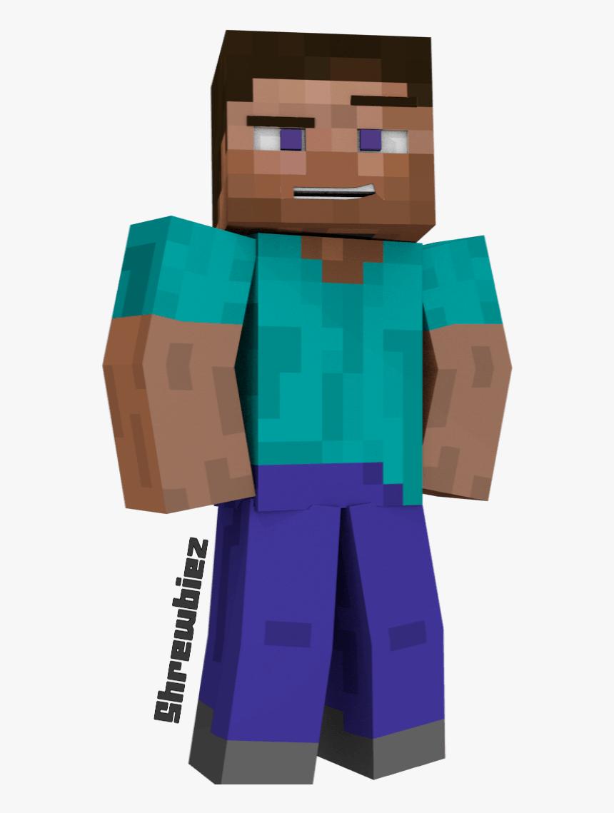 Minecraft Steve - Steve Minecraft Png, Transparent Png, Free Download