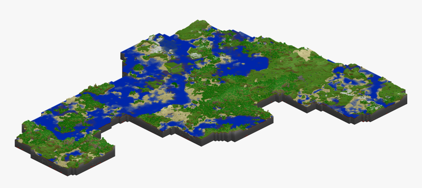 Transparent Dirt Path Png - Minecraft Automatic Farm World, Png Download, Free Download