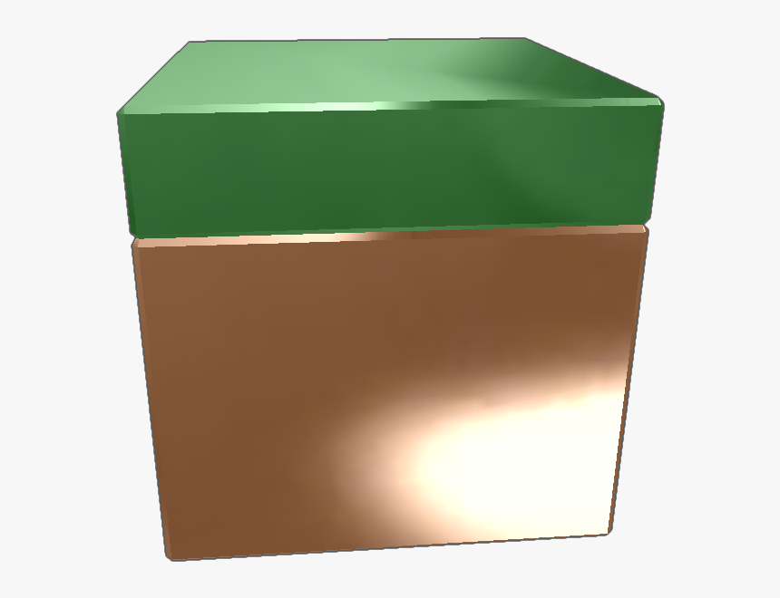 """It""""s A Grass Block From Minecraft And It""""s Cool Donate - Box, HD Png Download, Free Download"""