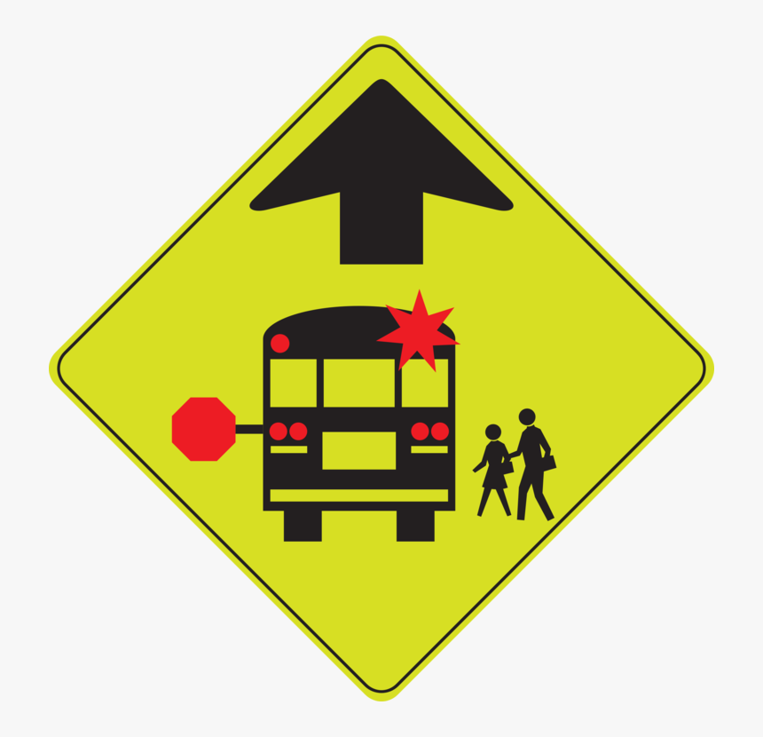Triangle,area,symbol - Stop For School Bus Road Sign, HD Png Download, Free Download
