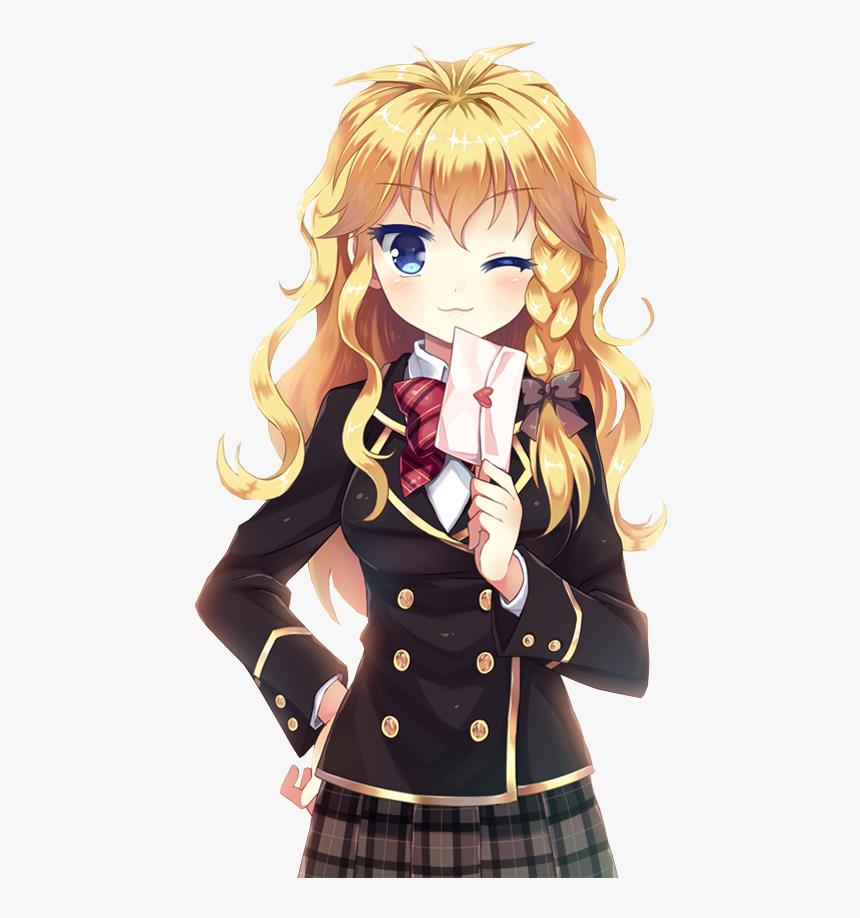 Anime Png Available In Different Size - Transparent Anime School Girl Png, Png Download, Free Download