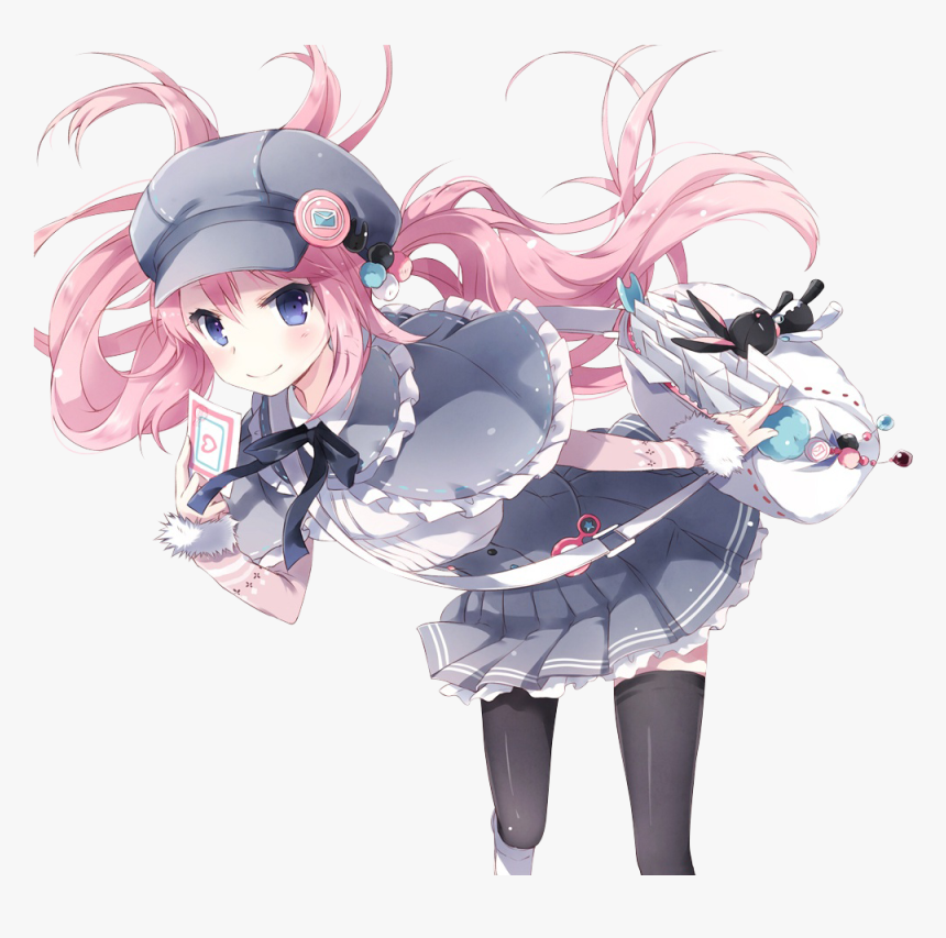 Anime, Girl, And Manga Image - Render Anime Girl Hot, HD Png Download, Free Download