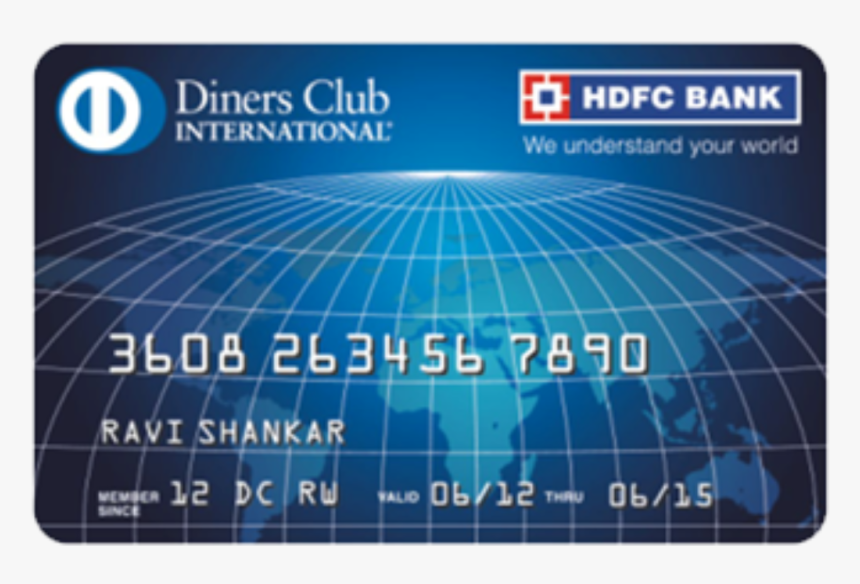 Diners Club International Credit Card, HD Png Download, Free Download
