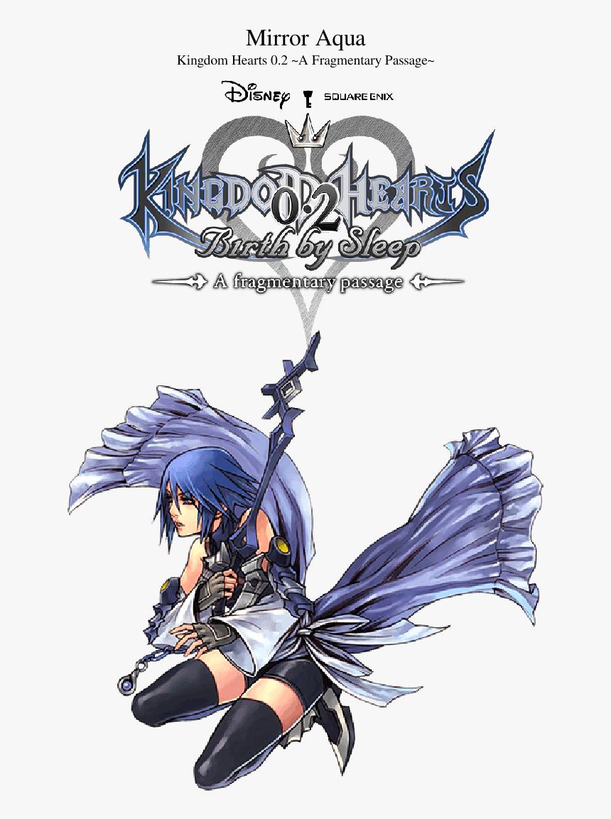 Aqua Kingdom Hearts Bbs, HD Png Download, Free Download