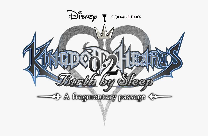 Kingdom Hearts Birth By Sleep - Kingdom Hearts A Fragmentary Passage Logo, HD Png Download, Free Download