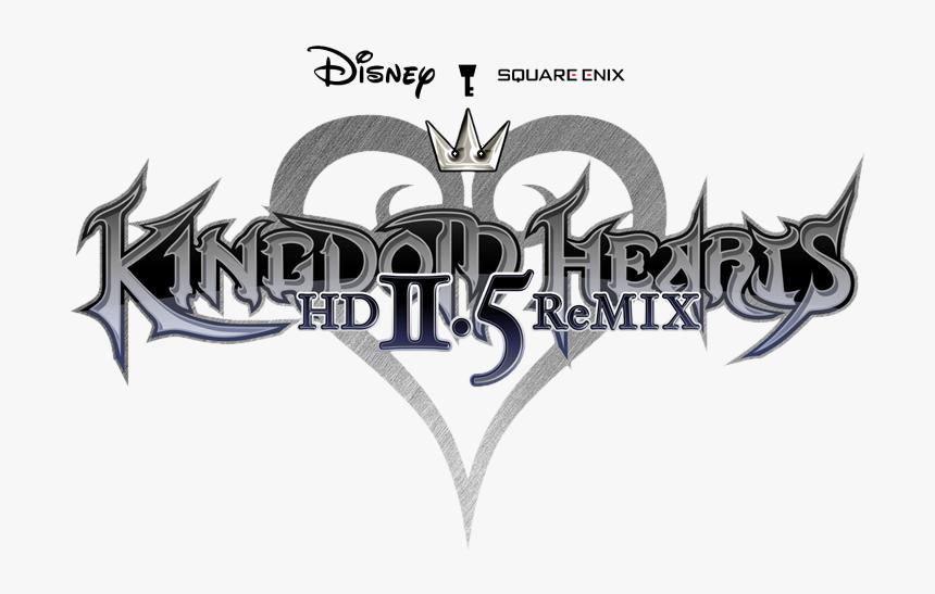 Kingdom Hearts Hd - Kingdom Hearts Hd 2.5 Remix Logo, HD Png Download, Free Download