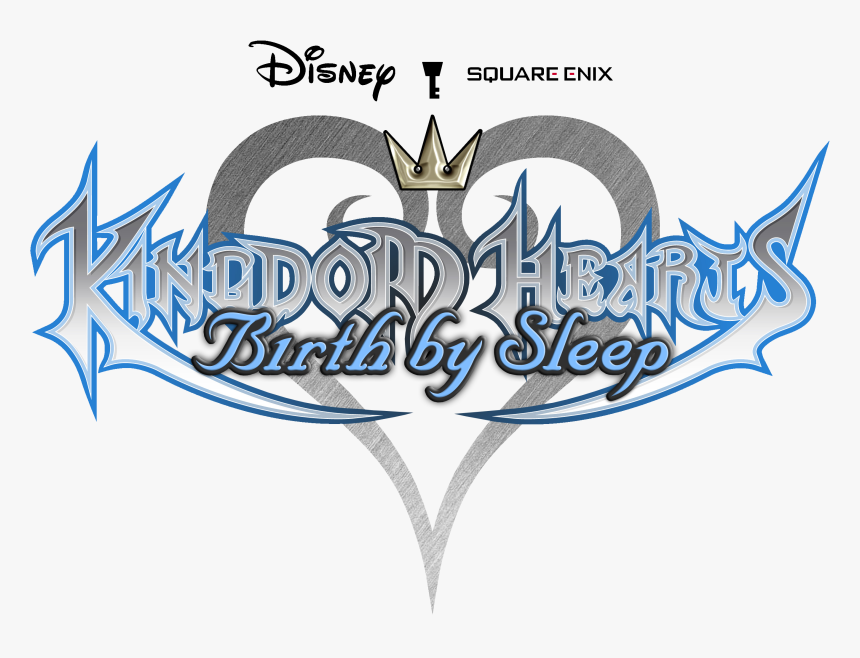 Kingdom Hearts Birth By Sleep Title, HD Png Download, Free Download