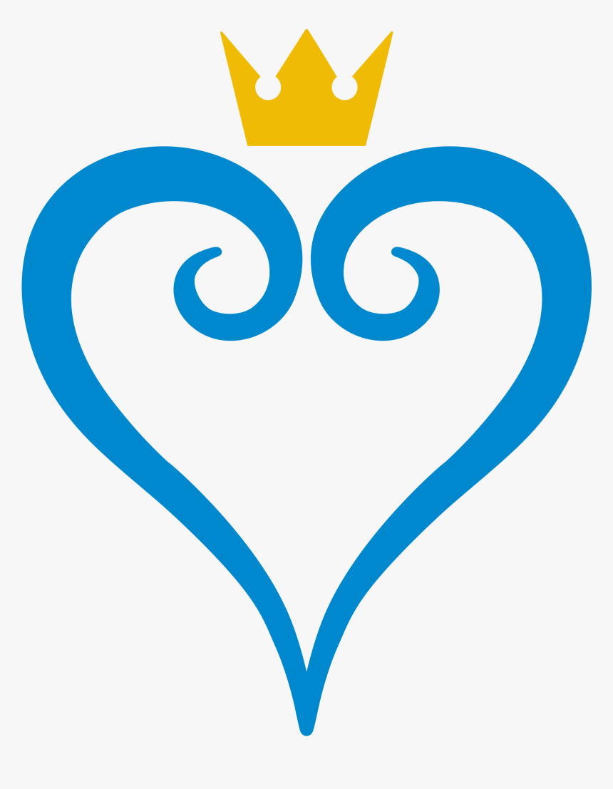 Kingdom Hearts Logo Png Clipart , Png Download - Kingdom Hearts Logo Png, Transparent Png, Free Download
