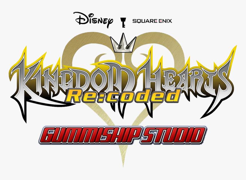 Kingdom Hearts Wiki - Kingdom Hearts Coded Logo, HD Png Download, Free Download