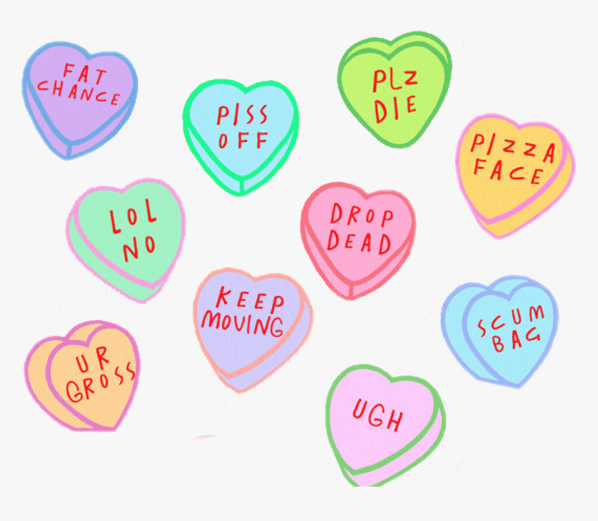 Transparent Tumblr Png - Aesthetic Hearts Png, Png Download, Free Download