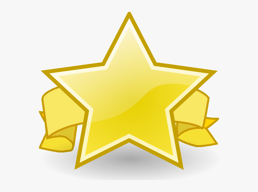 Contest Winner Clip Art - Gold Star Of The Month, HD Png Download, Free Download