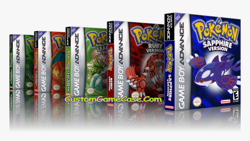 Pokemon Collection Leaf Ruby Sapphire Emerald Firered - Pokemon, HD Png Download, Free Download