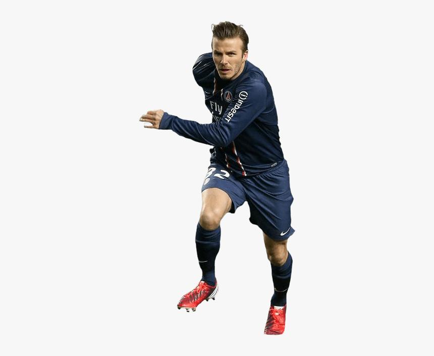 David Beckham Sprint - Football Players Png Format, Transparent Png, Free Download