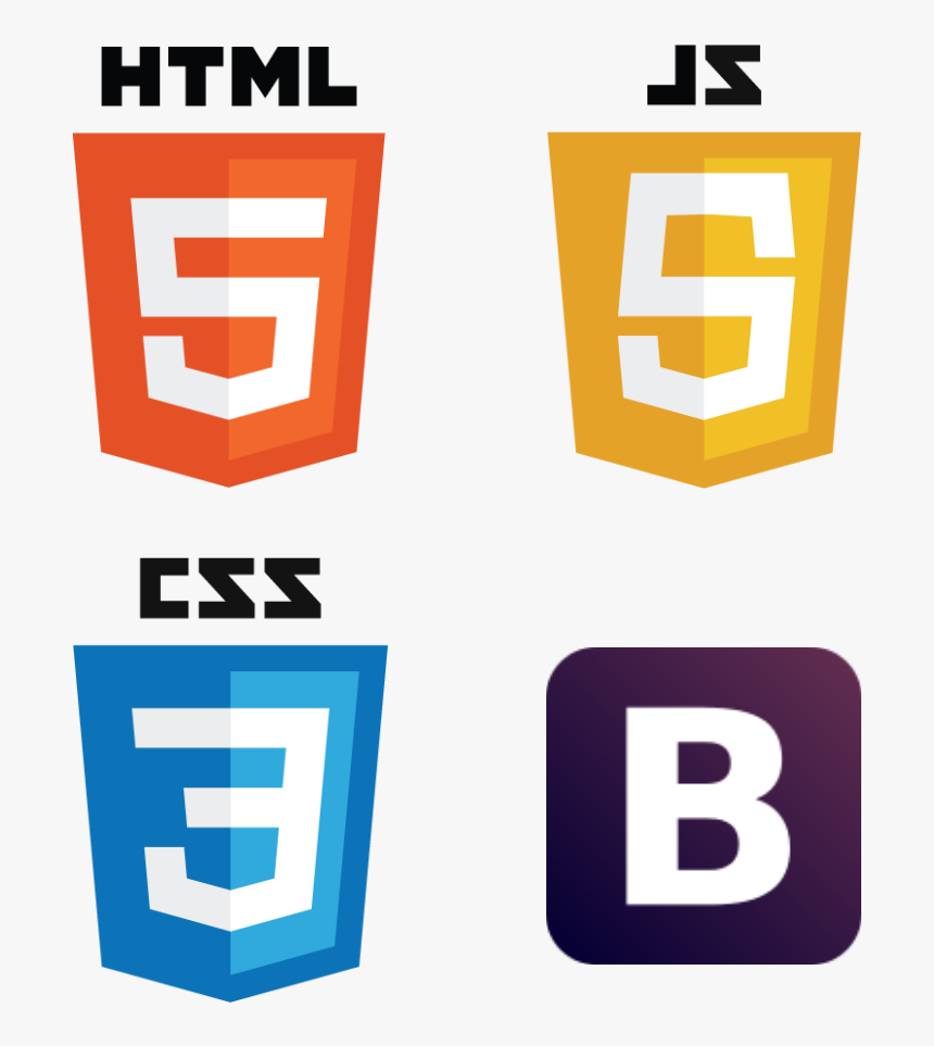 Html Css Js Bootstrap, HD Png Download, Free Download