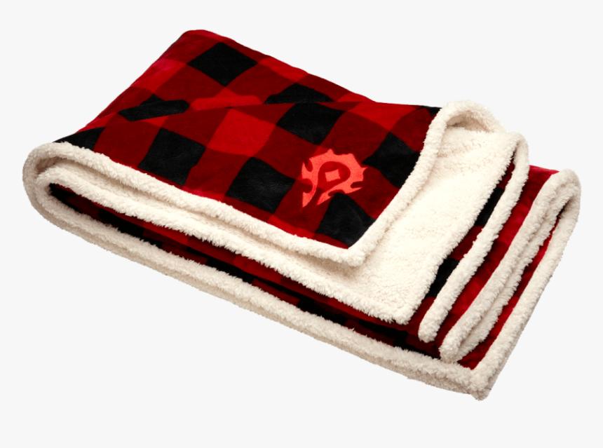 World Of Warcraft Horde Throw Blanket, HD Png Download, Free Download
