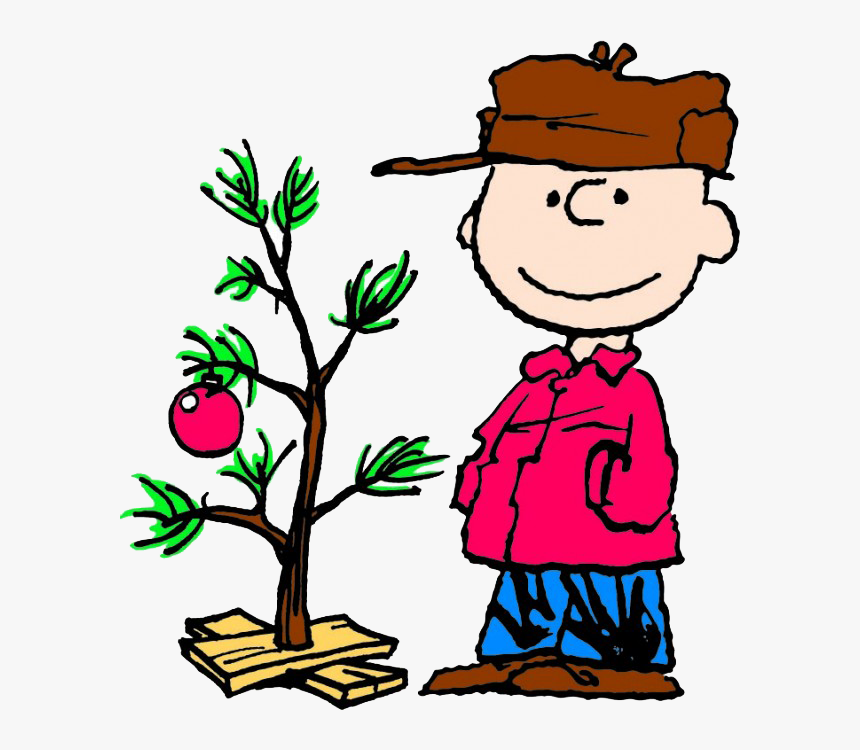 Charlie Brown With T - Tree From Charlie Brown Christmas, HD Png Download, Free Download