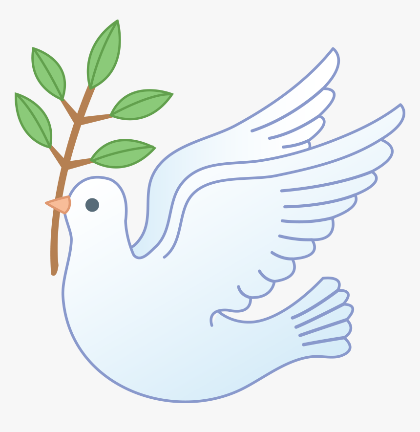 Dove With Olive Branch Clipart, HD Png Download, Free Download