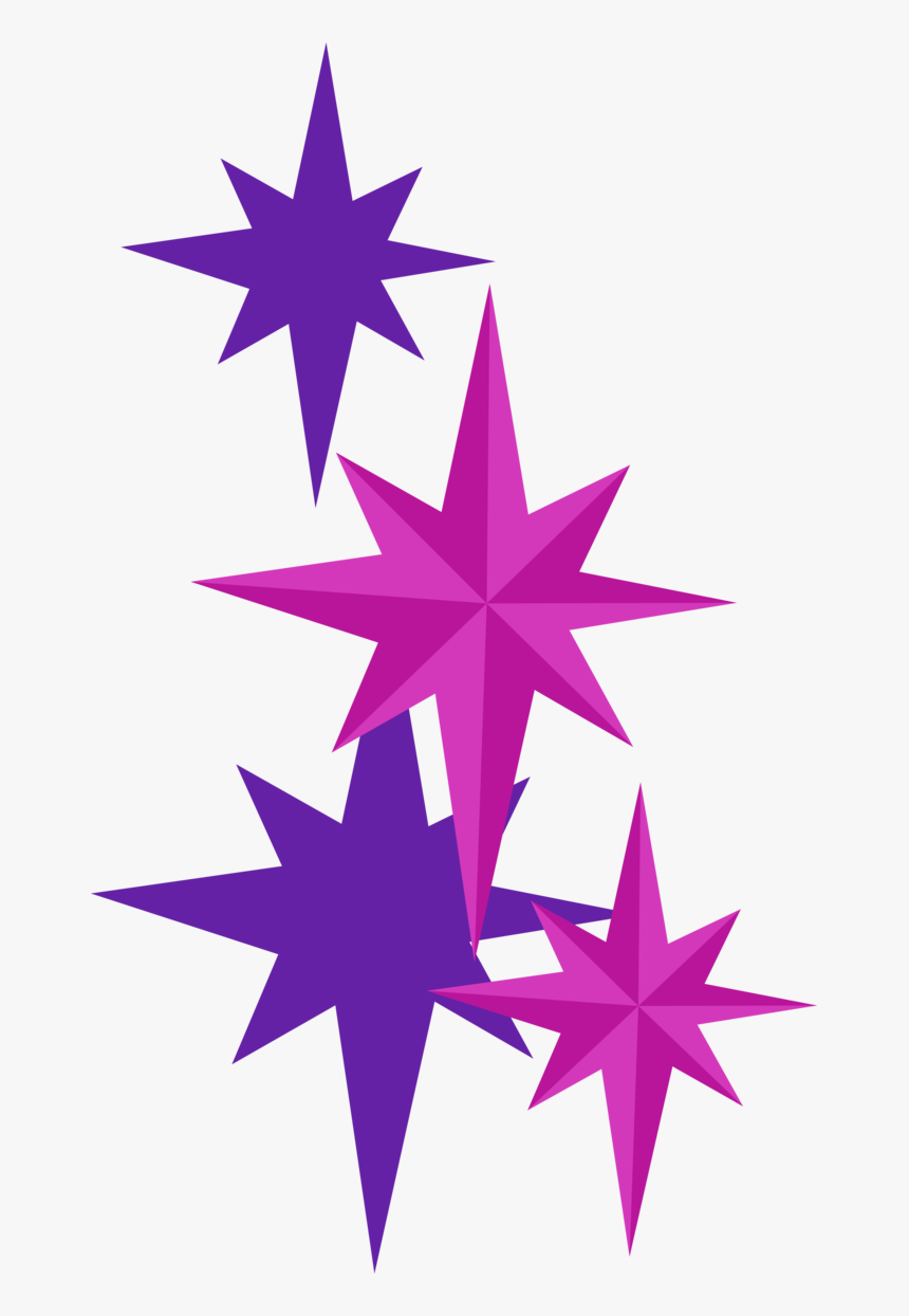 Sparkle Clipart Magenta - Mlp Sparkle Cutie Mark, HD Png Download, Free Download