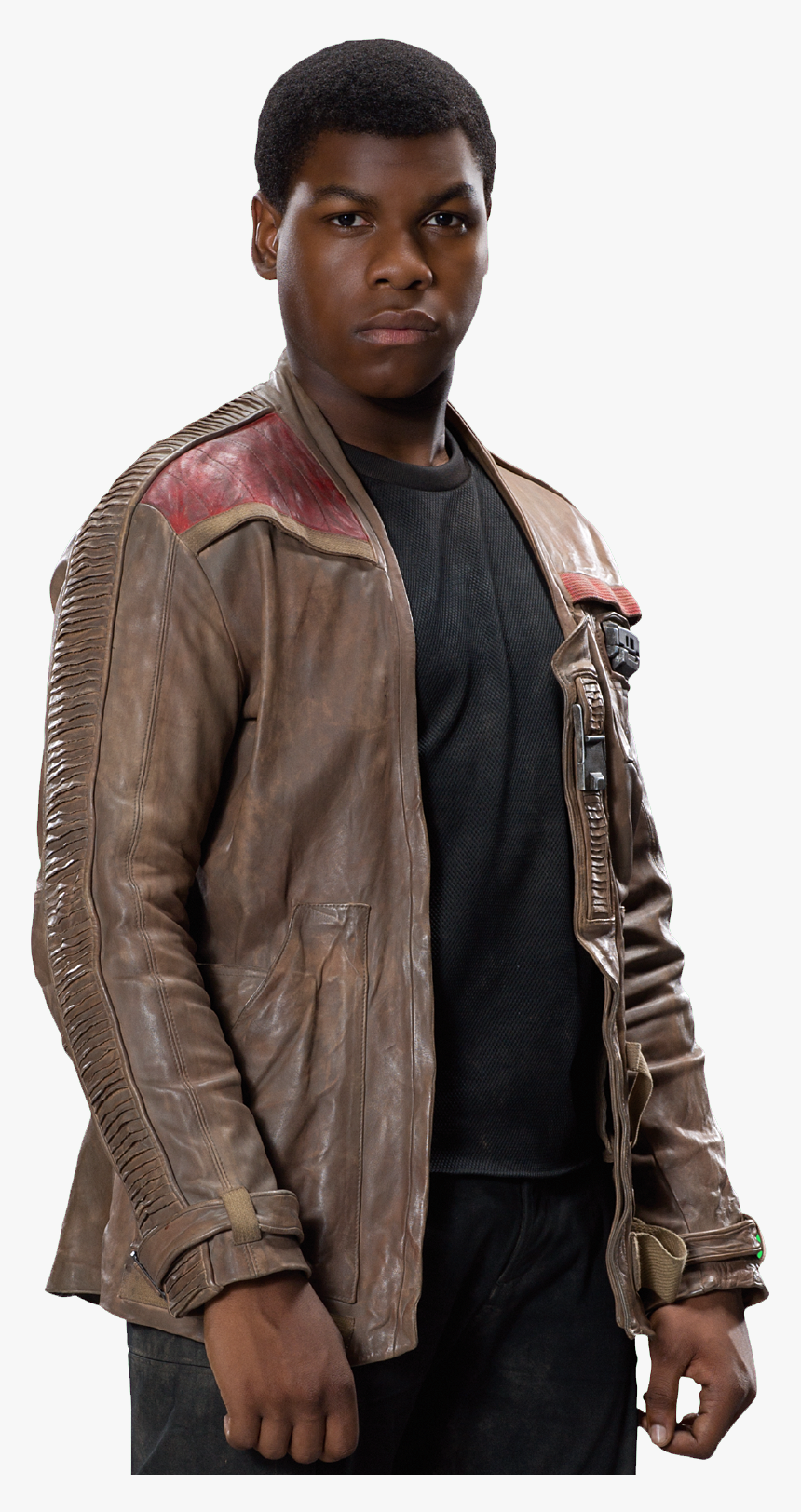 Star Wars The Force Awakens Finn Poe Dameron Leather Finn Star Wars Transparent Background Hd Png Download Kindpng