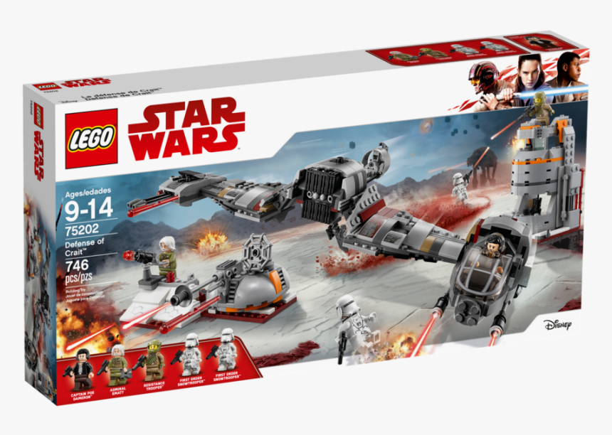 Lego Defense Of Crait, HD Png Download, Free Download