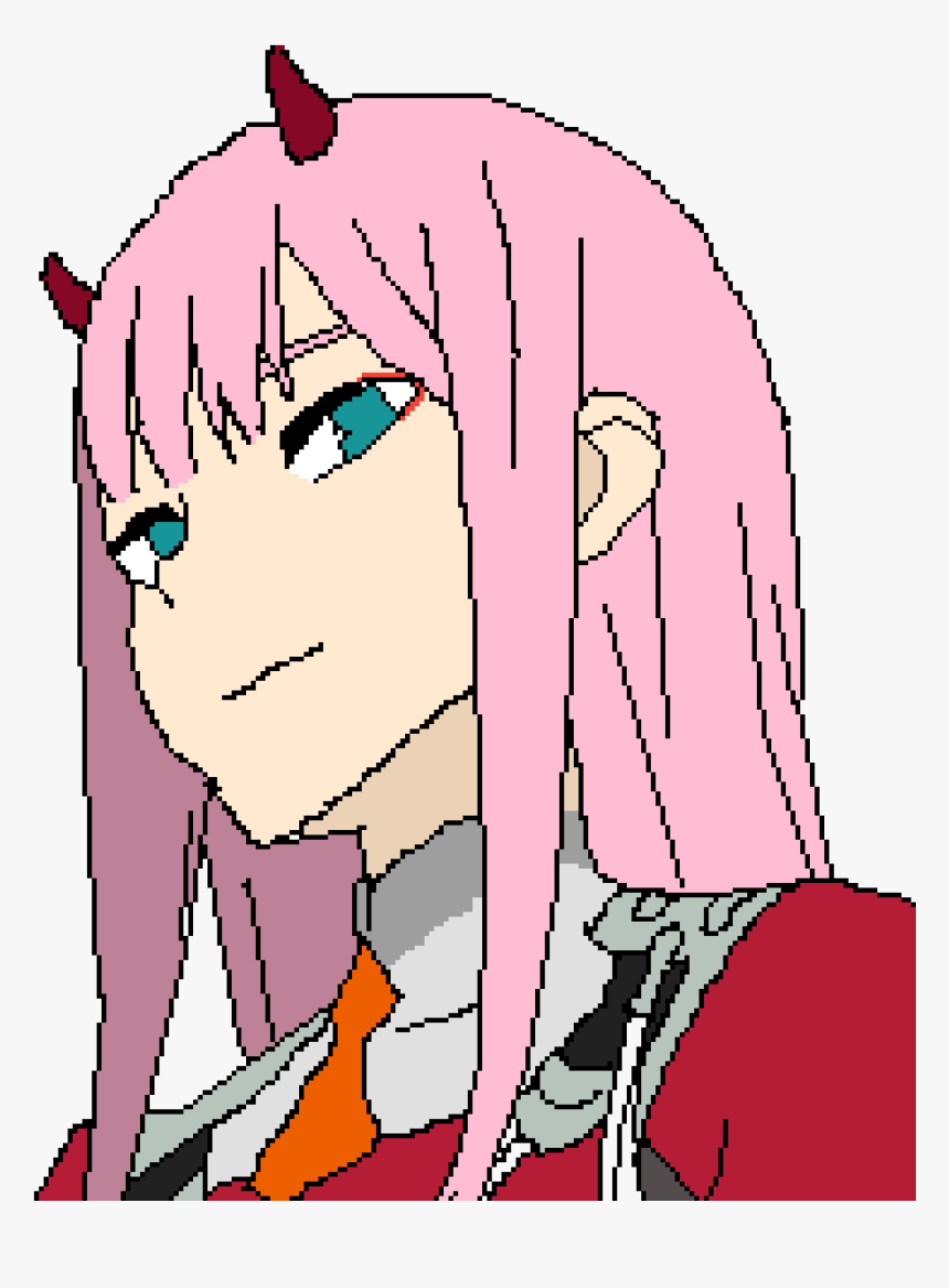 Transparent Zero Two Png - Darling In The Franxx Zero Two Chibby, Png Download, Free Download